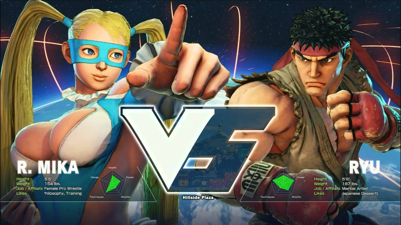Street Fighter V: Mad Catz V Cup Day 2 Exhibition - Gootecks (R. Mika) vs Zhi (Ryu)