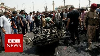 IS conflict: Dozens killed in Baghdad car bombings - BBC News