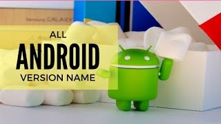 What are the Android Versions with thier names/Tamil /TRENDING TAMIZHA/