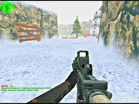 Counter Strike 1.6: Zombie Escape - Xmas Escape | World War'Z
