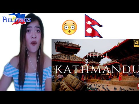 Filipino Girl React On Kathmandu Nepal 4K City Tour