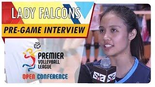PVL OC 2018: Chiara Permentilla | AdU | CCS vs. AdU | Pre-game Interview