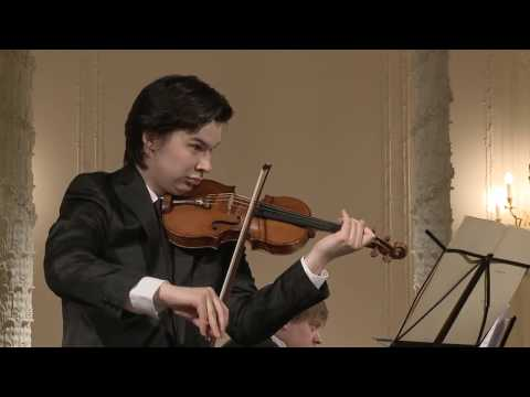 Aylen Pritchin (violin) English Hall of St. Petersburg Music House 2014-05-14 Part 2
