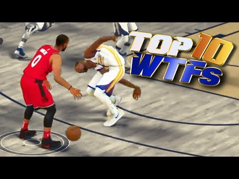 TOP 10 WTF's That Would BREAK The 2K LEAGUE - NBA 2K18 Highlights