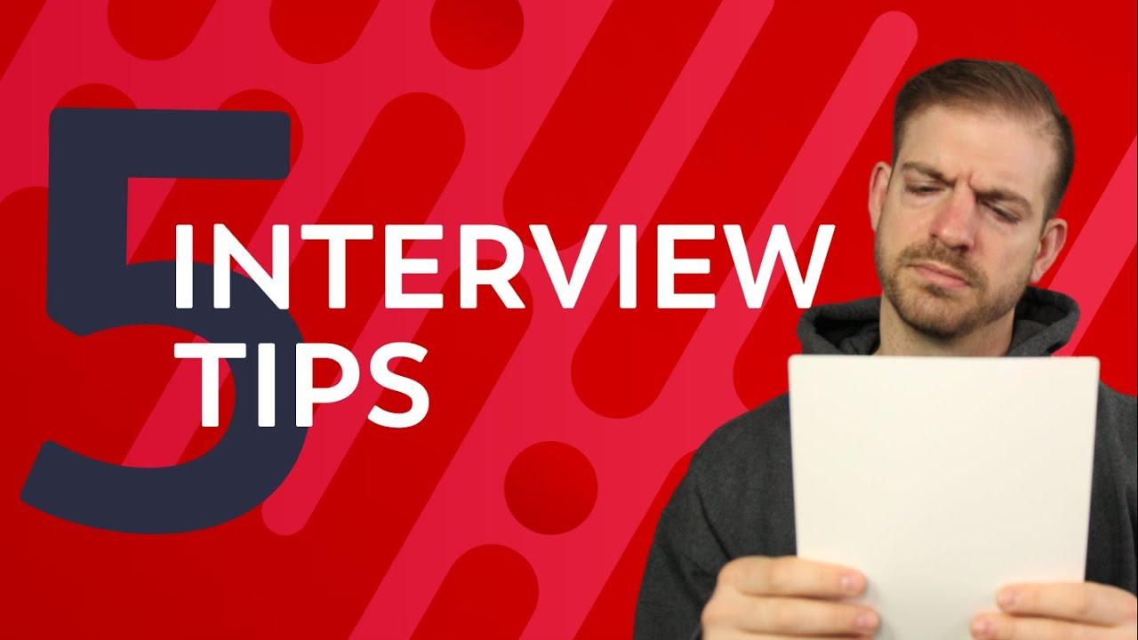 5 Tips For Crushing Your Developer Interviews