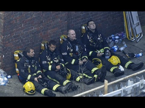 Several casualties in London apartment inferno, says fire brigade