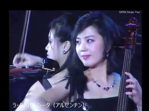 モランボン楽団  世界名曲メドレー  Moranbong band -  World famous song medley