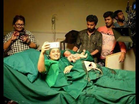 Mersal Making on NithyaMenon in Mersal Selfie Photo   Vijay   Thalapathy   Atlee