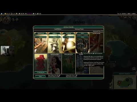 Civilization V - #1 - Persepolis #1 - An epic start as Persia!