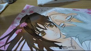 [Watercolor speedpaint] Yuki Cross and Zero Kiryu from Vampire Knight