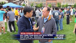 Download Video SUAB HMONG NEWS:  Reactions from Peace March Seeking Justice for Dylan Yang in Wausau MP3 3GP MP4