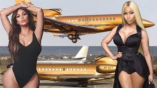 Kim Kardashian vs Nicki Minaj Transformation ★ 2018