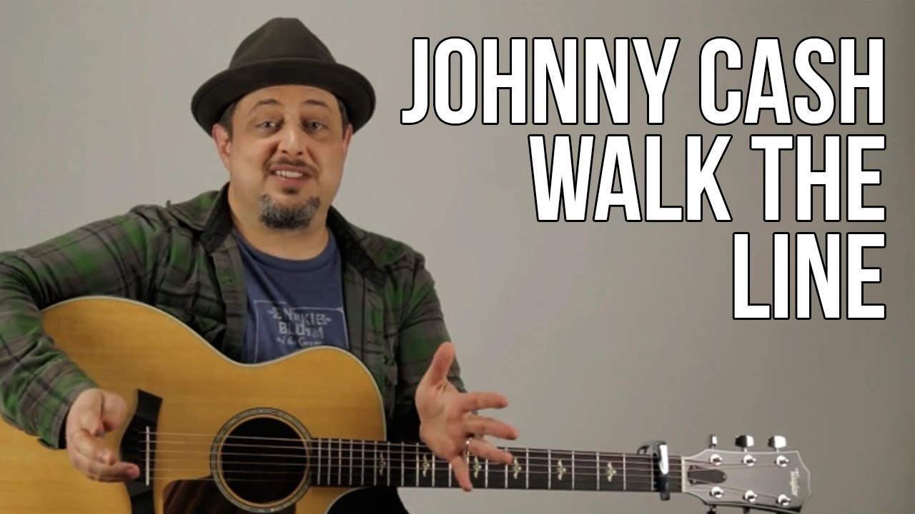 How To Play Johnny Cash I Walk The Line Chords And Rhythm Youtube