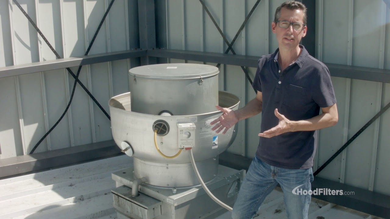 how to install a restaurant exhaust fan