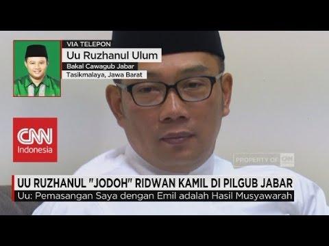 """UU Ruzhanul """"Jodoh"""" Ridwan Kamil di Pilgub Jabar"""