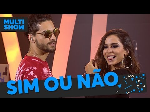 Sim ou N茫o | Anitta + Maluma | M煤sica Boa Ao Vivo | M煤sica Multisshow