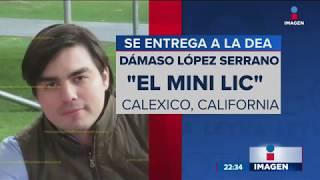El 'Mini Lic', Dámaso López Serrano, se entregó a la DEA   Noticias con Ciro Gómez Leyva thumbnail