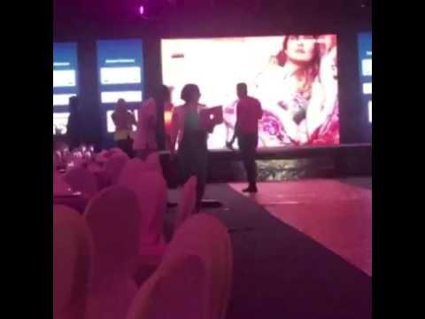 Zohaib zee choreography rehearsal @femina dubai awards and fashion show