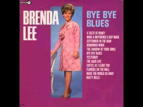 Brenda Lee - CC lyrics -  Make the World 🌐 Go Away