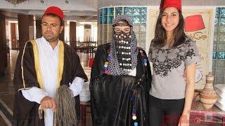 «سي السيد وأمينة وجليلة» أحدث تقاليع المكرونة المصرية (اتفرج)