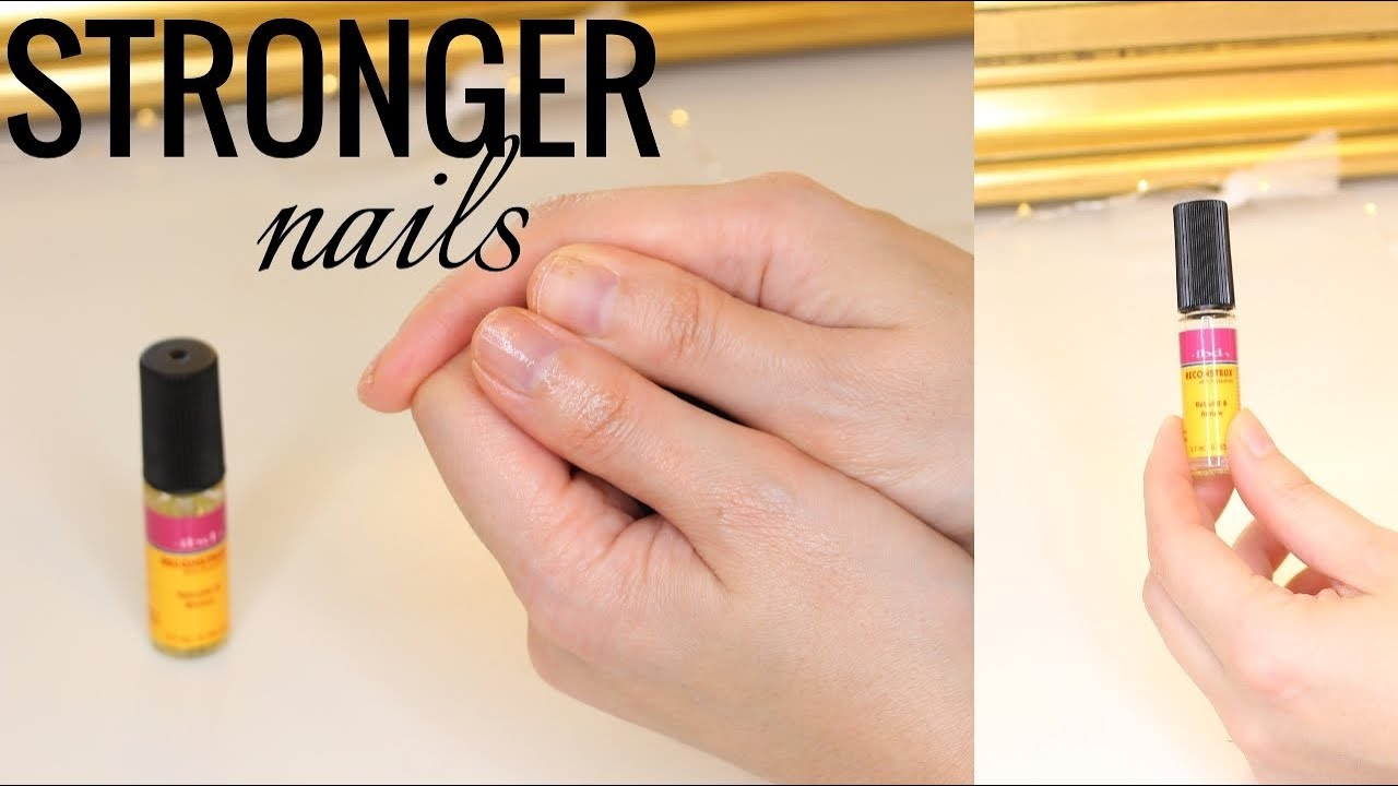 How To Strong Nails Repair Damaged From Gel Polish Or Acrylics