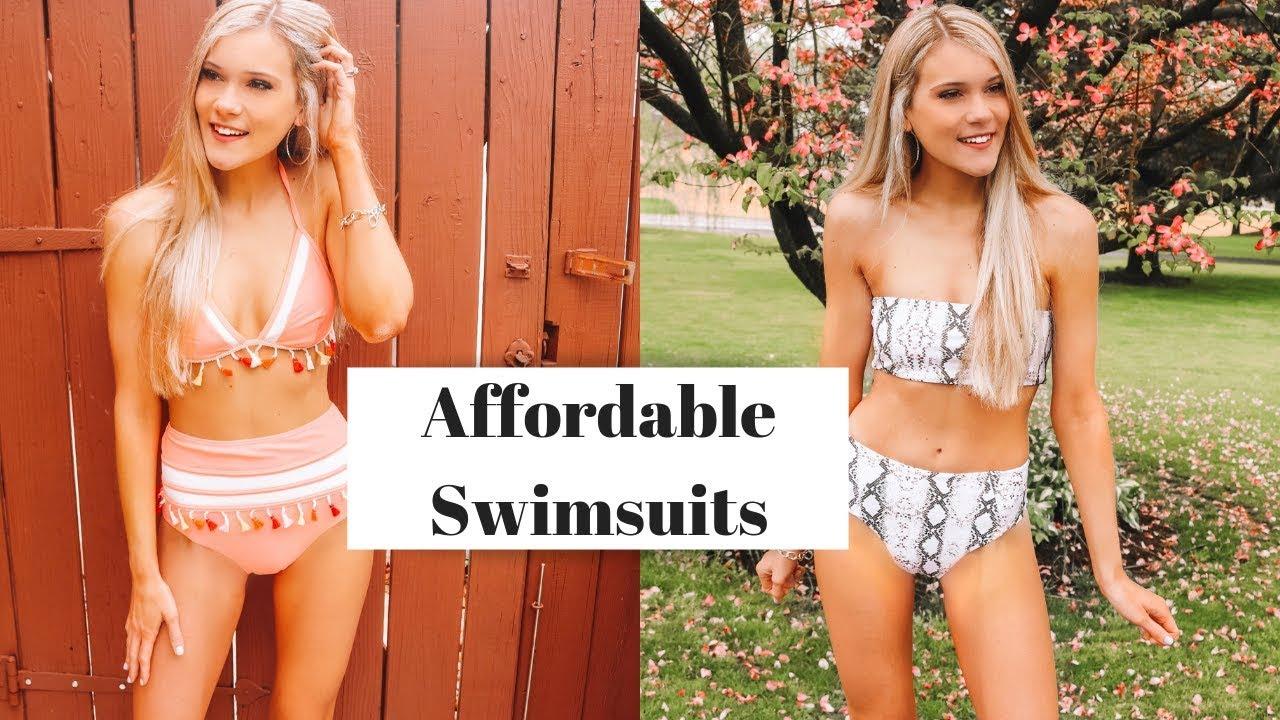5c5beb374e Huge Swimsuit Try On Haul 2019 | Amazon, Walmart, etc - YouTube