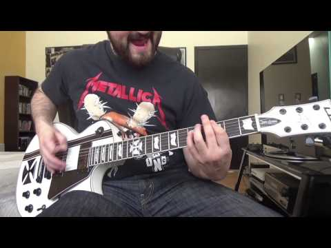 Cyanide Metallica  Guitar