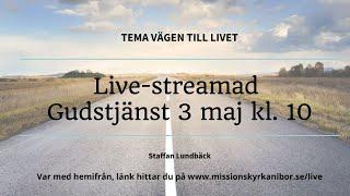 20200503 Gudstjänst i Missionskyrkan i Bor kl. 10
