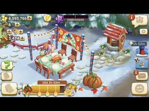 FarmVille 2 Country Escape🎄Christmas Music🍁Thanksgiving Event