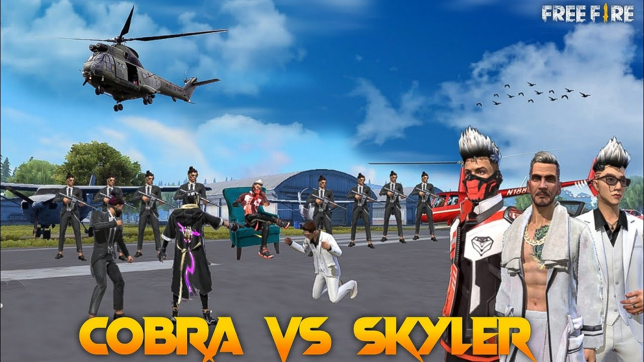 Cobra Vs Skyler [ कोबरा Vs स्काईलर ] Free Fire Short Gang War Story    Free Fire Story