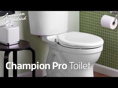 Champion PRO Toilets: American Standard Toilet Collection That Flushes For Good