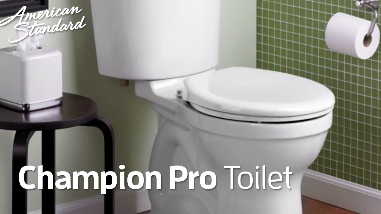 Champion PRO Toilets: American Standard Toilet Collection that ...