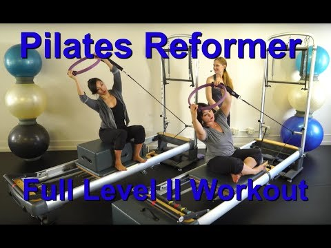 Upside-Down Pilates - Level II Reformer Full 1 Hour Workout