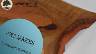 Jws Makes: Breadboard Butter (how To Make) (chopping Board Oil)
