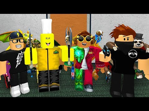 ROBLOX MURDER MYSTERY WITH YOUTUBERS!