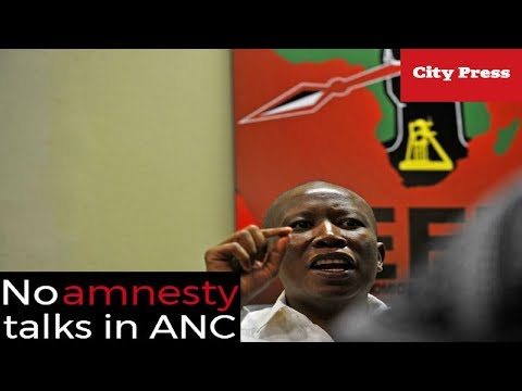 """""""I know for a fact there are no amnesty talks in ANC"""""""