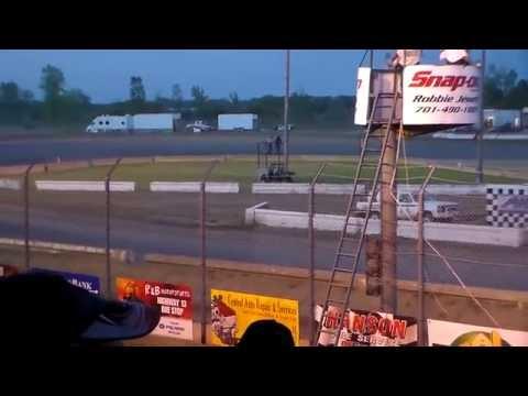 Jamestown Speedway IMCA Modified B-Mains (5/21/16)