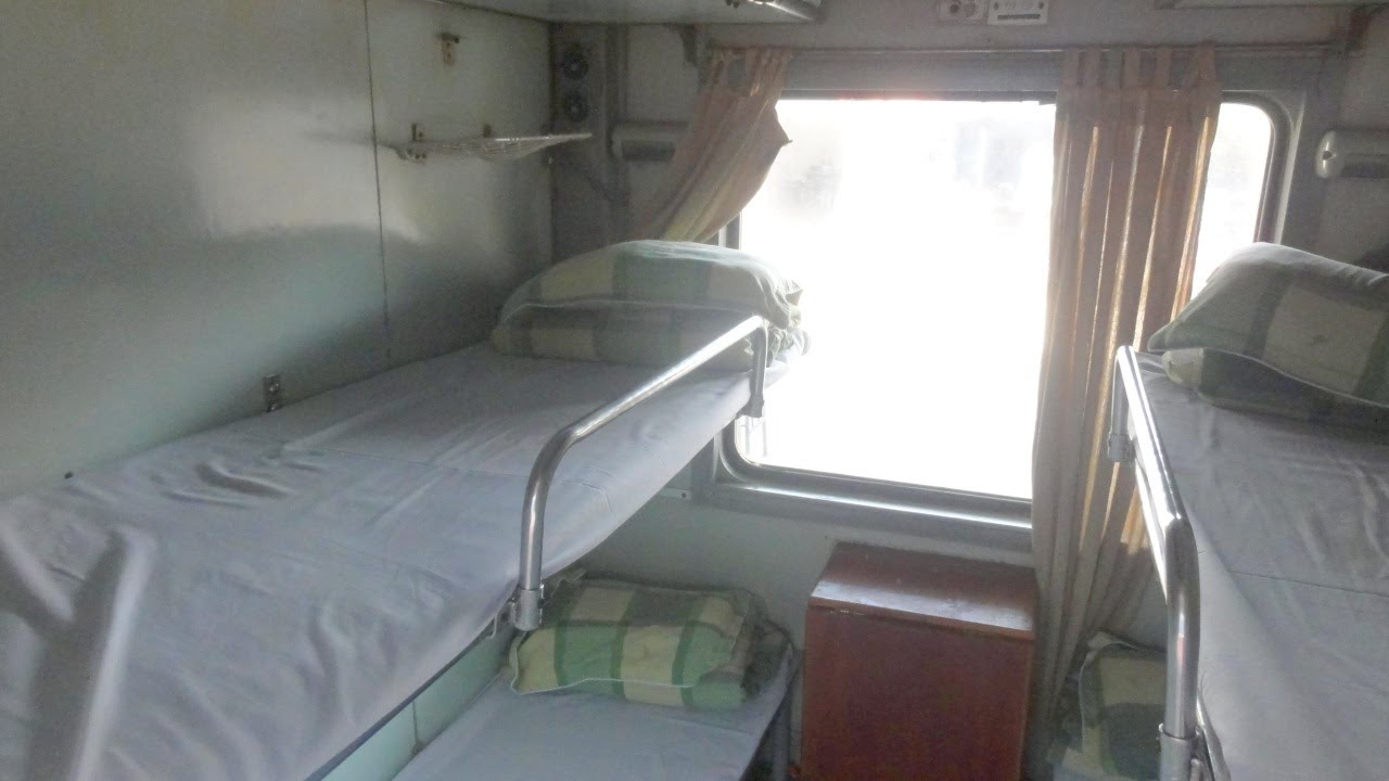 Inside Sleeper Car in Train Hanoi  Ho Chi Minh City