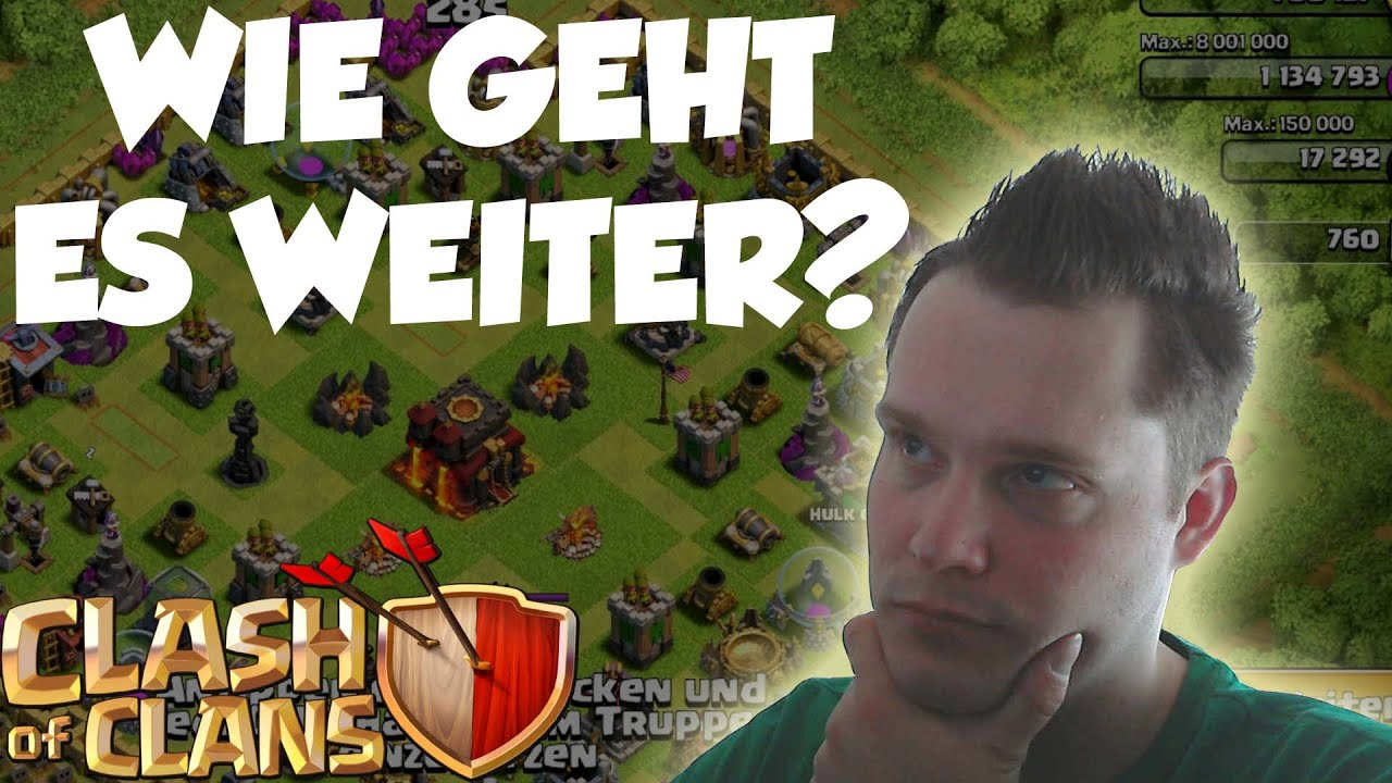 wie geht es weiter clash of clans let 39 s play coc. Black Bedroom Furniture Sets. Home Design Ideas