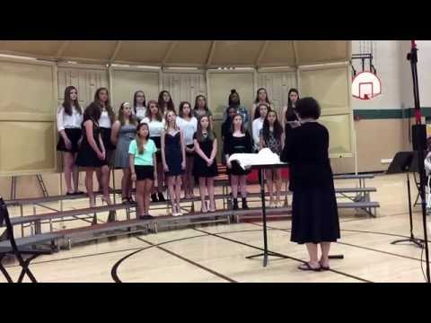 Dance on My Heart      Savanna Oaks Middle School Eighth grade girls choir 2014-2015