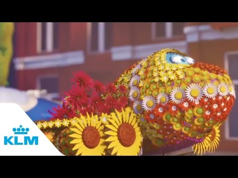 KLM - Bluey and the flower parade