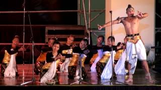 Ronald Pohan, Jangeran, Traditional de Bali, Cordana Youth Choir, Musica Sacra en San Juan 2012