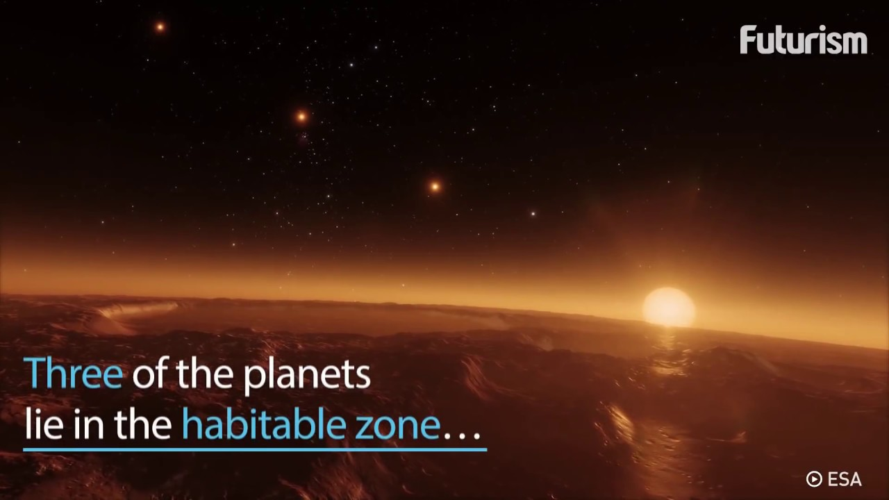 Breaking News: NASA Discovers Seven New Planets - YouTube