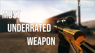 MOST UNDERRATED WEAPON IN BATTLEFIELD 5?! - Battlefield V Moments
