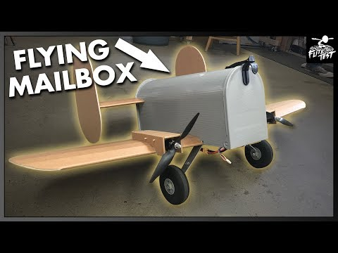 RC FLYING Mailbox - 24 Hour Build