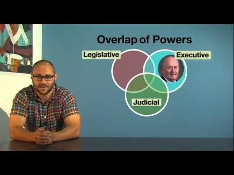 VCE Legal Studies - Overlap in the separation of powers