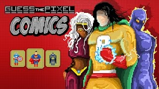 Guess The Pixel: Comics - Game Trailer (Spil Games)