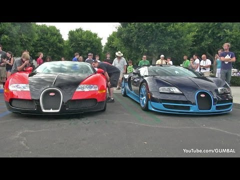 1200HP Bugatti Veyron Grand Sport Vitesse – Start up + Revs!
