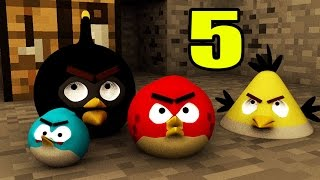 ANGRY MINECRAFT part 5 (Angry Birds Animation)