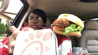 SPICY CHICKEN DELUXE CHICK-FIL- A Mukbang